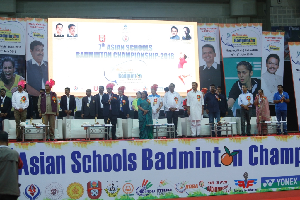 7TH ASIAN SCHOOL BADMINTON CHAMPIONSHIP, NAGPUR, INDIA